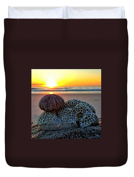 Seashell Surprise Duvet Cover