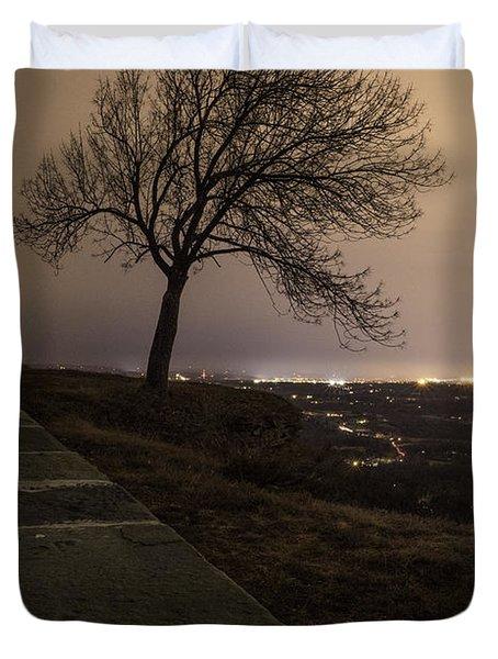 Thacher Park Twilight Duvet Cover