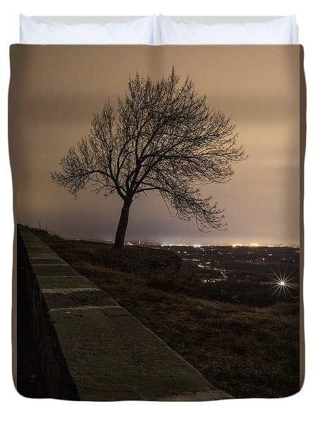 Thacher Park Twilight Duvet Cover