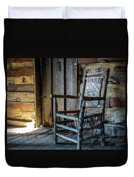 Thacker Cabin Chair Duvet Cover
