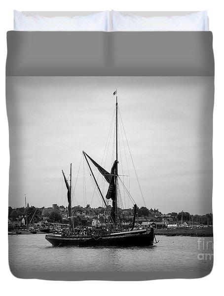 Thames Barge Duvet Cover