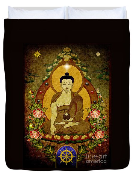 Thangka Painting Duvet Cover