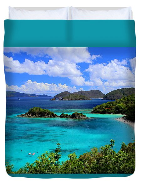 Thank You St. John Usvi Duvet Cover