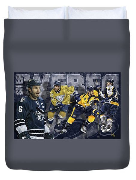 Thanks For The Memories Duvet Cover by Don Olea