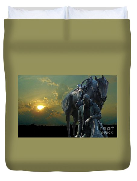 Duvet Cover featuring the photograph Thanks For The Rain  by Janette Boyd
