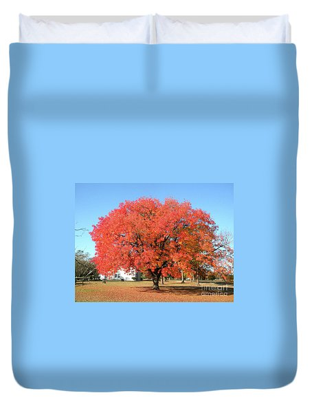 Thanksgiving Blessings Duvet Cover