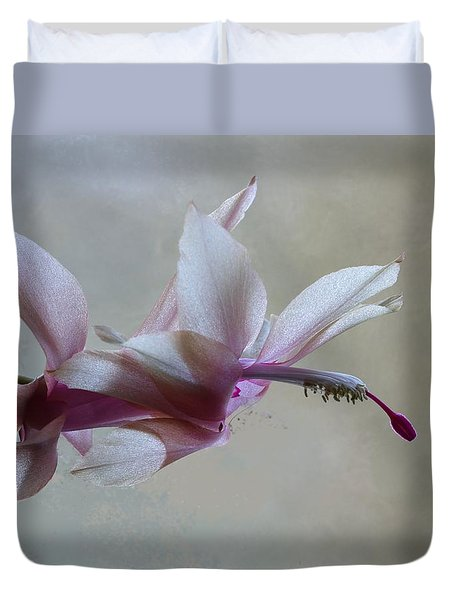 Thanksgiving Cactus Duvet Cover