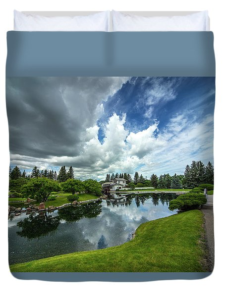 That Prairie Sky Duvet Cover