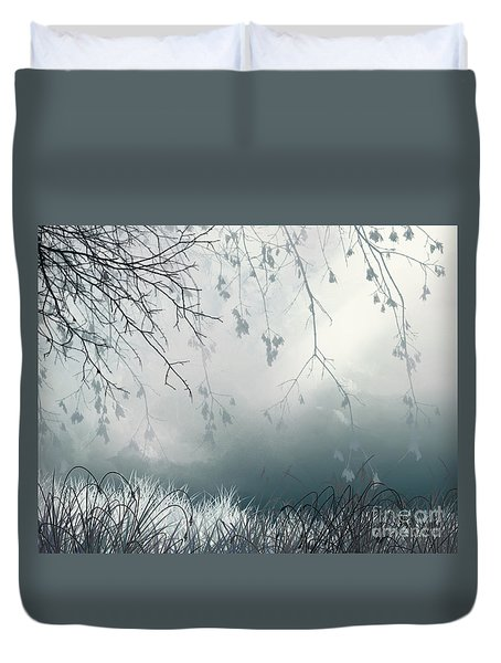 That Streak Duvet Cover by Trilby Cole