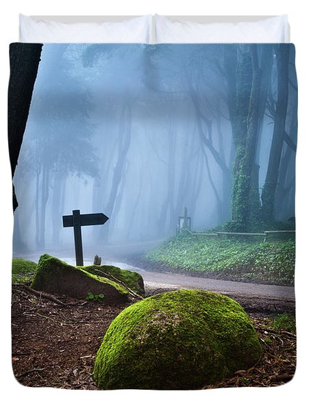 That Way Duvet Cover by Jorge Maia