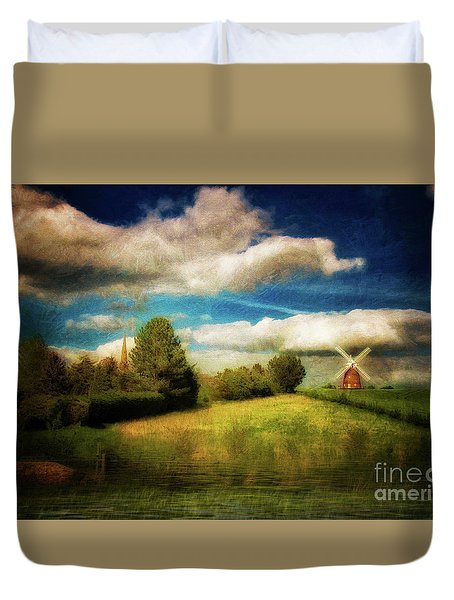 Thaxted With Millpond Duvet Cover