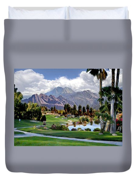 The 5th At Woodhaven Duvet Cover
