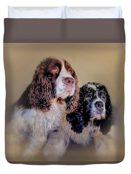 The A Team Duvet Cover by Wallaroo Images