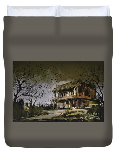 The Abandoned House Duvet Cover