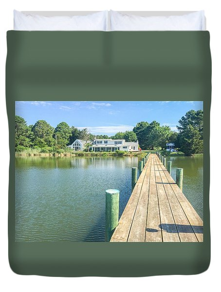 The Abbey On Cooper Point Duvet Cover