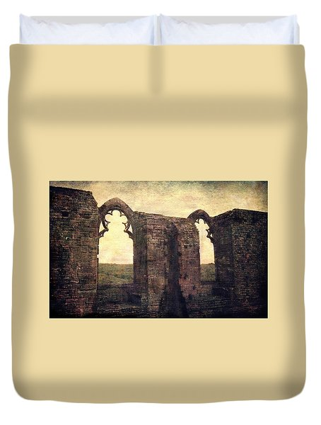 The Abbey Ruins Duvet Cover