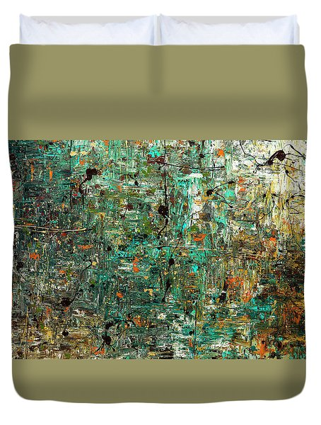 The Abstract Concept Duvet Cover