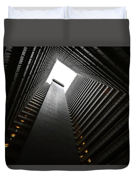 The Abyss, Hong Kong Duvet Cover by Reinier Snijders