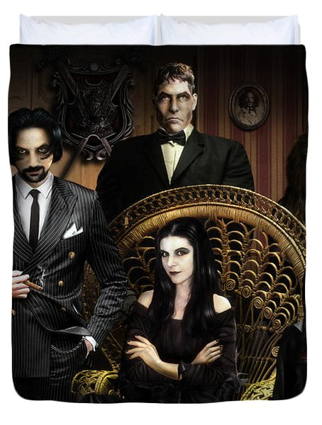 The Addams Family Duvet Cover