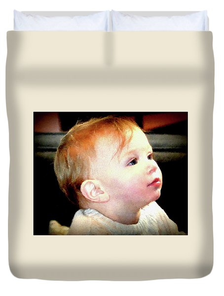 The Age Of Innocence Duvet Cover by Barbara Dudley