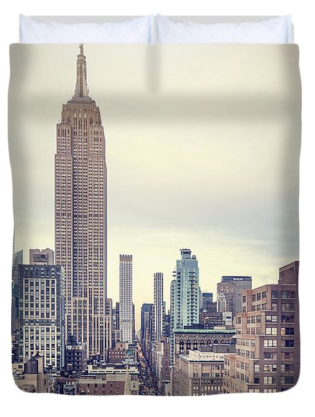 The Age Of The Empire Duvet Cover