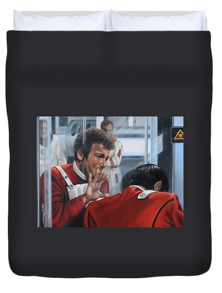 The Agony Of Loss Duvet Cover