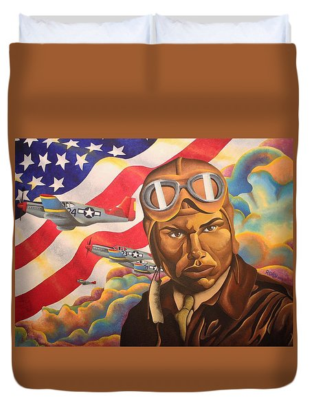The Airman Duvet Cover