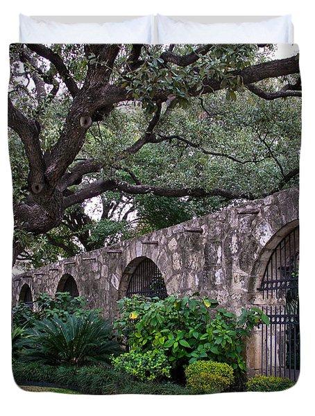 The Alamo Oak Duvet Cover by David and Carol Kelly