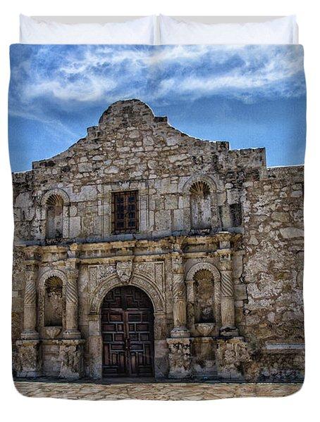 The Alamo Duvet Cover