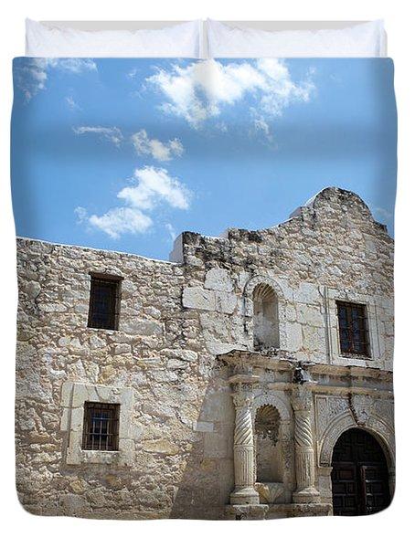 The Alamo Texas Duvet Cover