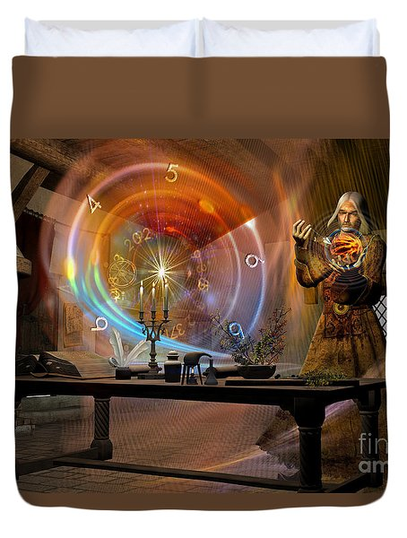 The Alchemist Duvet Cover by Shadowlea Is