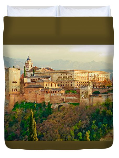 The Alhambra  Duvet Cover