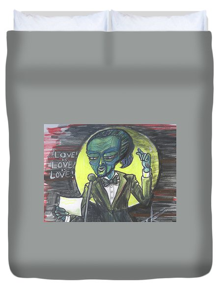 The Alien Lin-manuel Miranda Duvet Cover