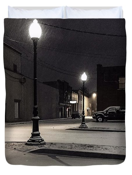 The Alley Duvet Cover
