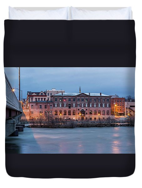 Duvet Cover featuring the photograph The Allure Of Old by Everet Regal