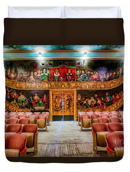 The Amargosa Opera House Duvet Cover