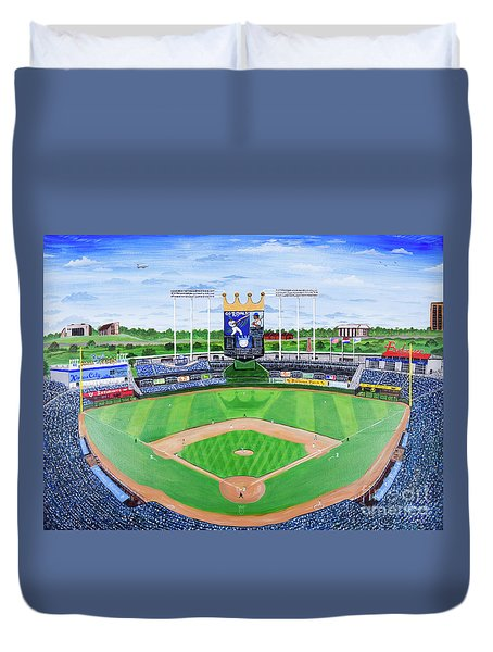 The Amazing Game At The K Duvet Cover