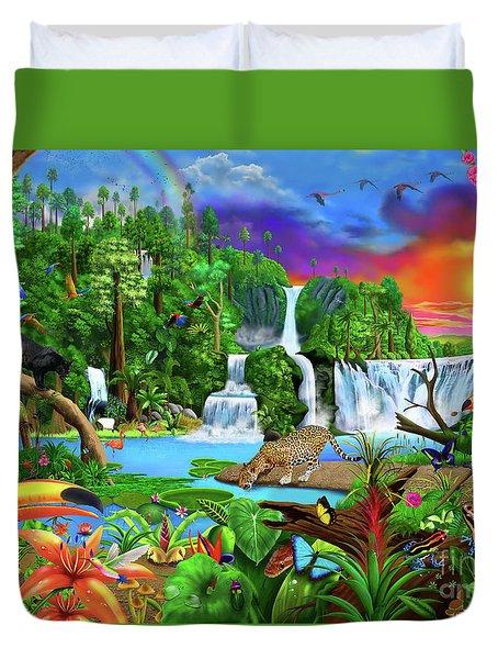 The Amazon Duvet Cover