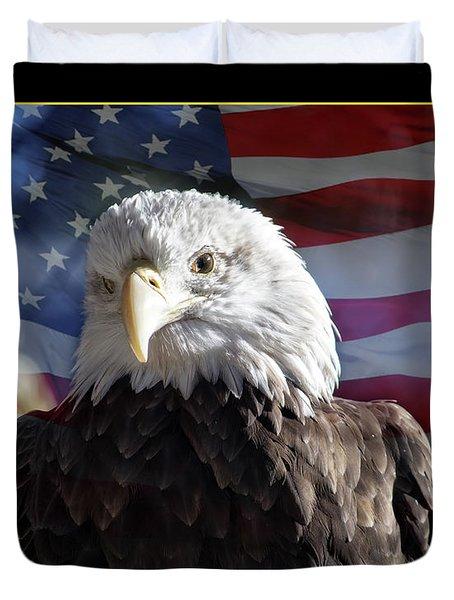 The American Bald Eagle Duvet Cover