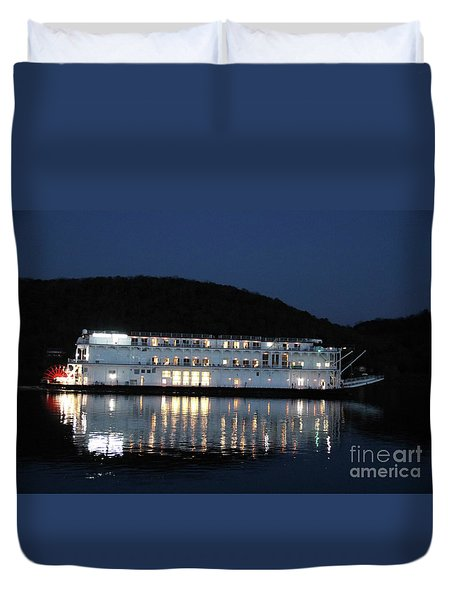 The American Duchess At Night Duvet Cover