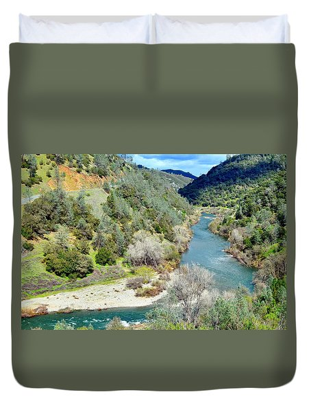 The American River Duvet Cover