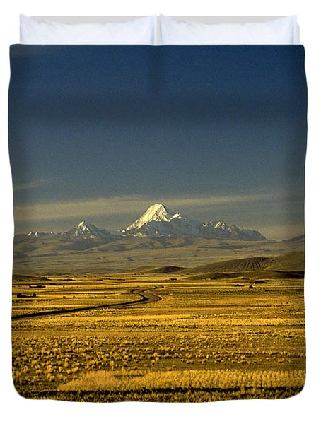 The Andes Duvet Cover
