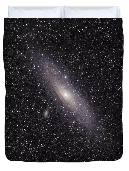 The Andromeda Galaxy Duvet Cover by Phillip Jones