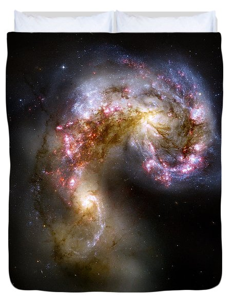The Antennae Galaxies - Ngc 4038-4039 Duvet Cover