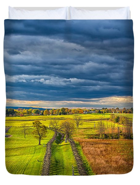 The Antietam Battlefield Duvet Cover