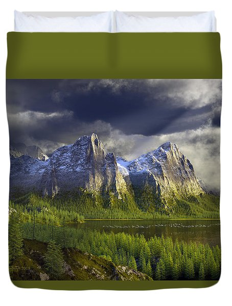 The Anvils Of Thor Duvet Cover
