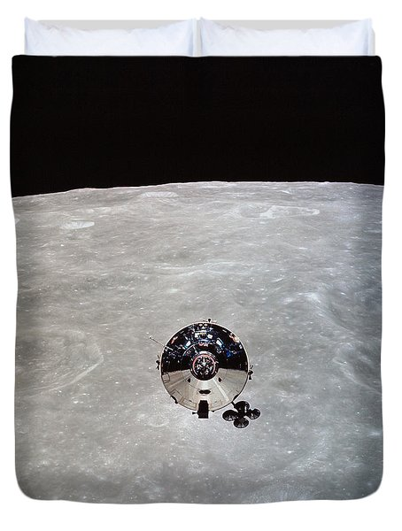 The Apollo 10 Command And Service Duvet Cover by Stocktrek Images