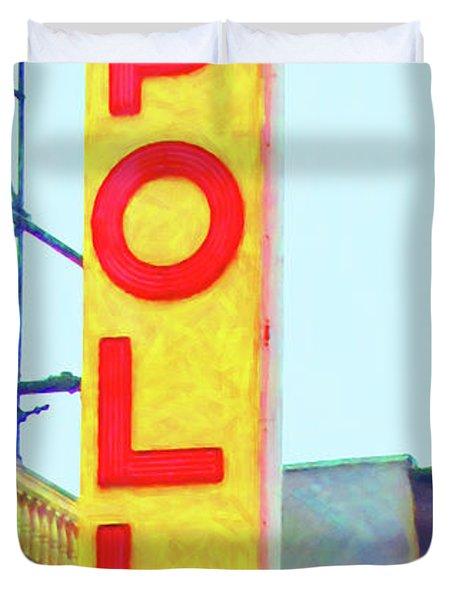 The Apollo Theater In Harlem Neighborhood Of Manhattan New York City 20180501v2 Duvet Cover