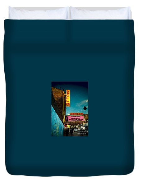 The Apollo Theater Duvet Cover