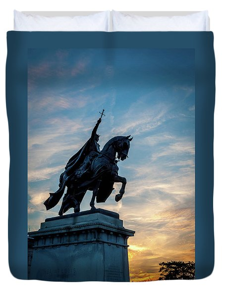 The Apotheosis Of St. Louis Duvet Cover